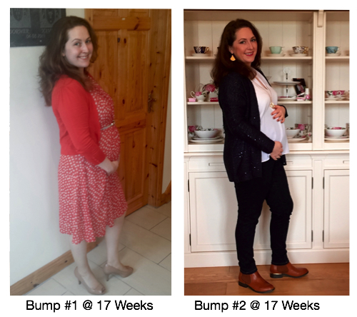 Week 17 with bump #1 and bump #2