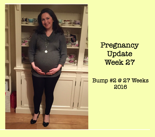 Pregnancy Update Week 27b