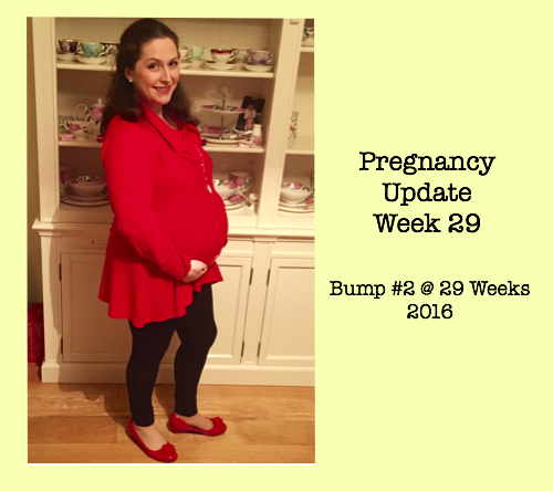 Pregnancy Update Week 29