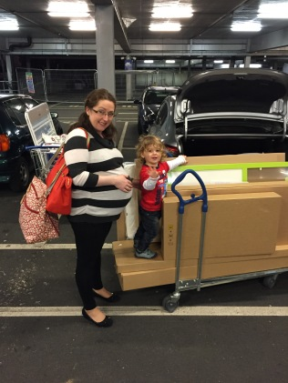 Pregnancy Update 36 - Ikea