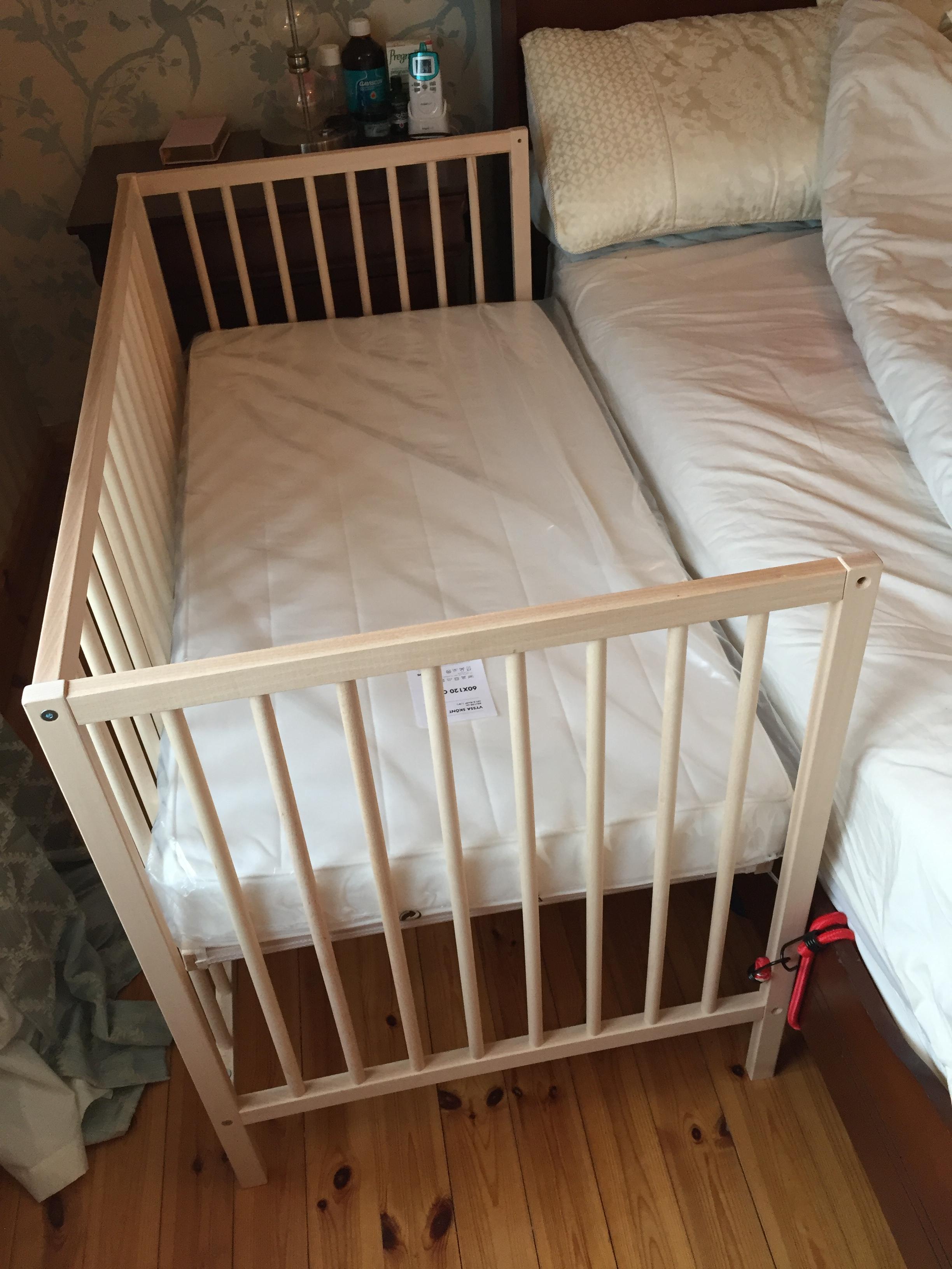 into basket part co crib turn sleeper a car side ikea