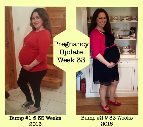 Pregnancy Update Week 33