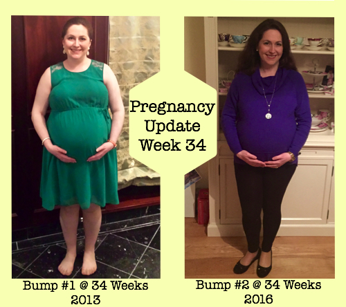Pregnancy Update Week 34