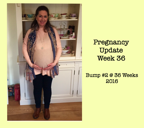 Pregnancy Update Week 36 - Bump 2 Photo