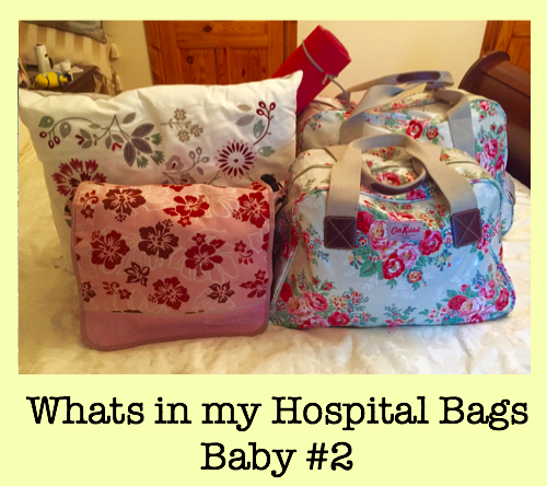 Finally Packed my Hospital Bags!!!