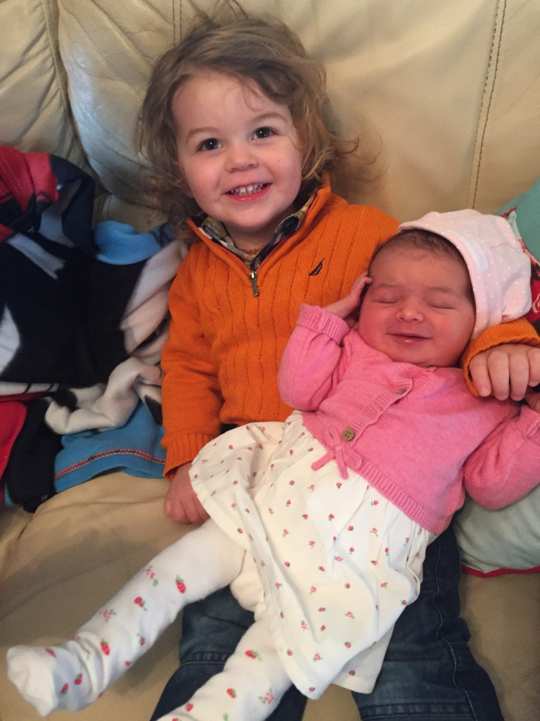Baby Update Week 1 - Little Man and Little Ladies First Day at Home