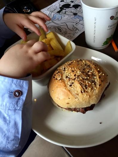 Baby Update Week 1 - Lunch