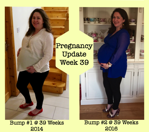 Pregnancy Update Week 39 - Spot the Differences in my Bump 1 and Bump 2 Photos?